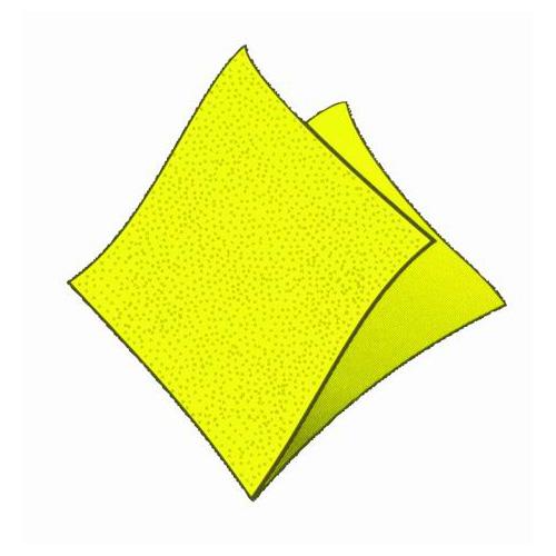 D-Ubrousky-žluté 250ks /86905