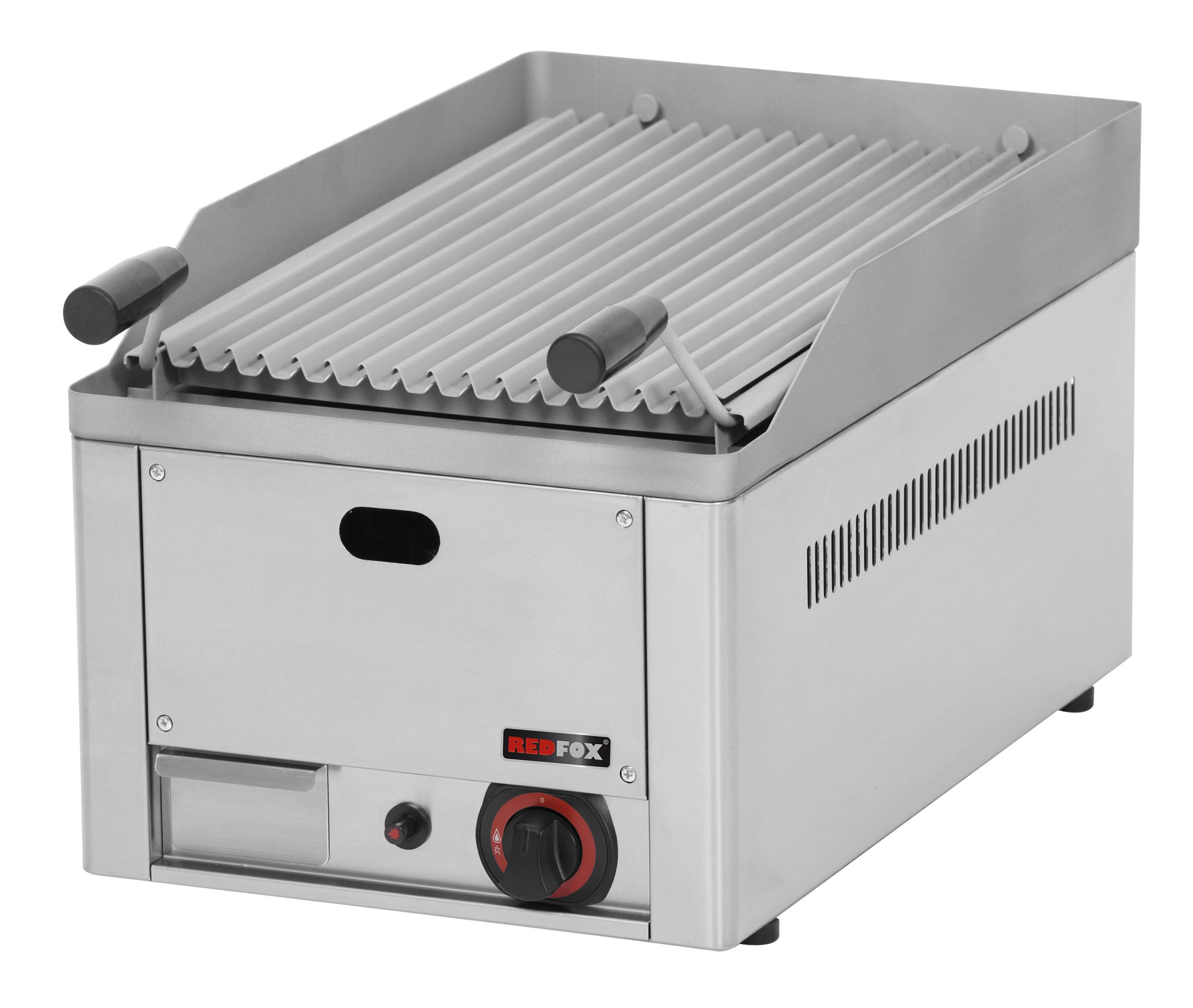 Gril lávový plynový GL 30 GS jednoduchý RedFox