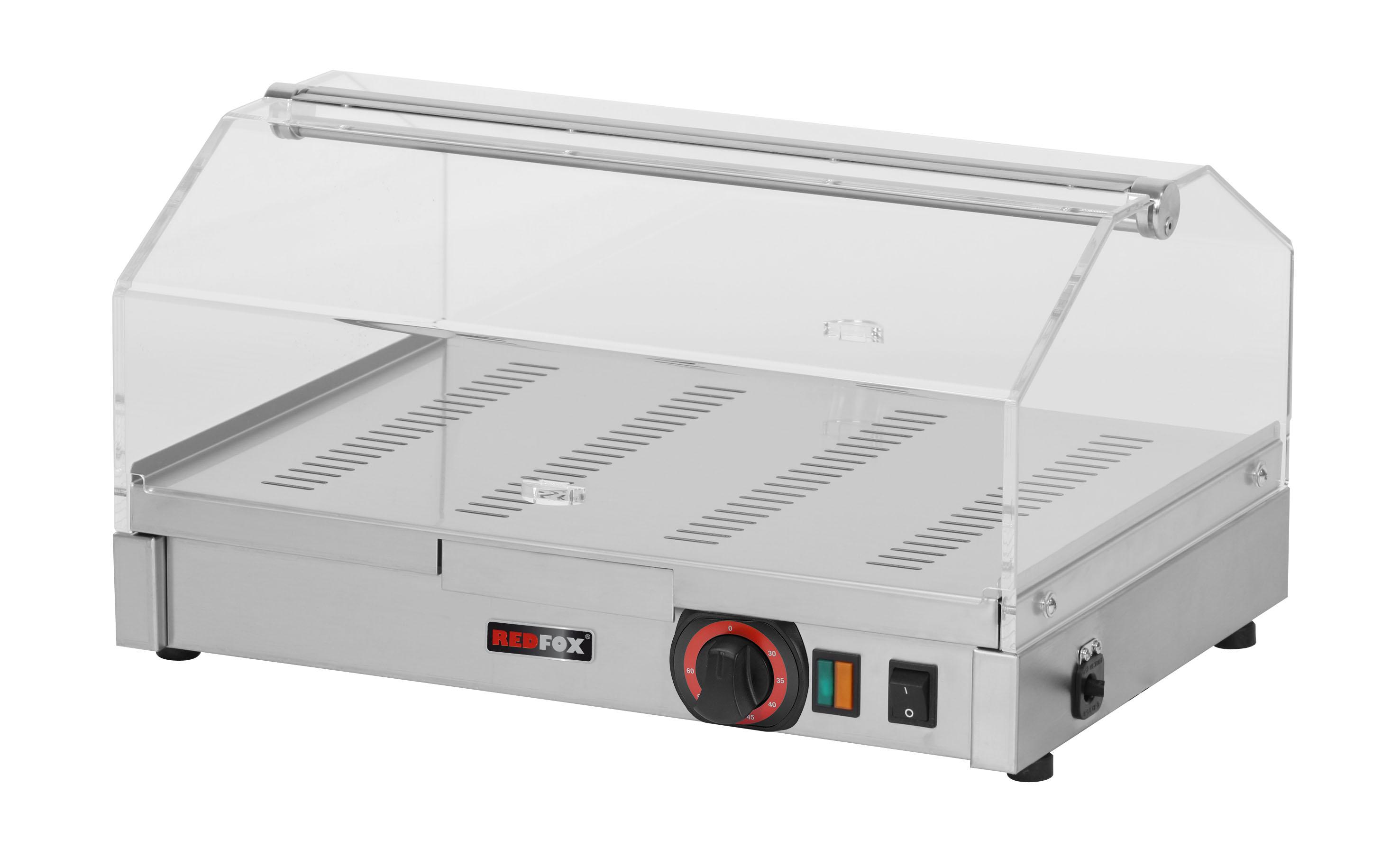 Vitrína vyhřívaná jednopatrová VEC 510 RedFox