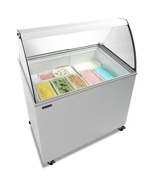 Vitrína na zmrzlinu  UDD 300 SCER