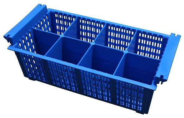 Kontejner plastový na příbory C 1308 REDFOX