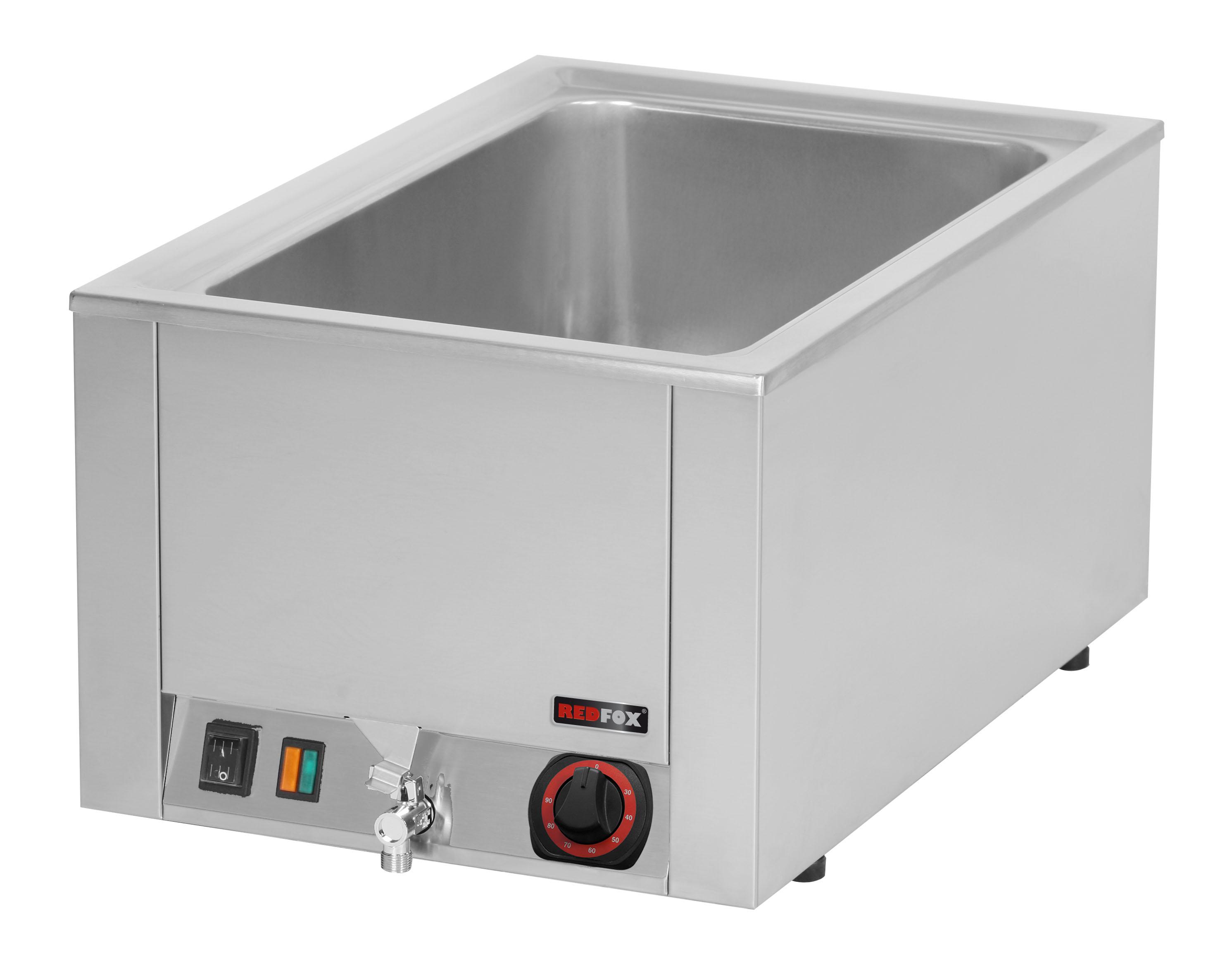 Lázeň vodní elektrická BMV 1120 GN1/1 s výpustí RedFox
