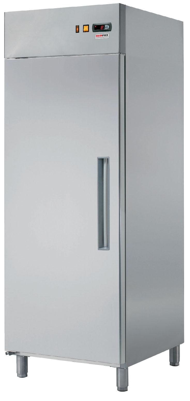 Skříň chladící RT 702L lednice nerezová REDFOX