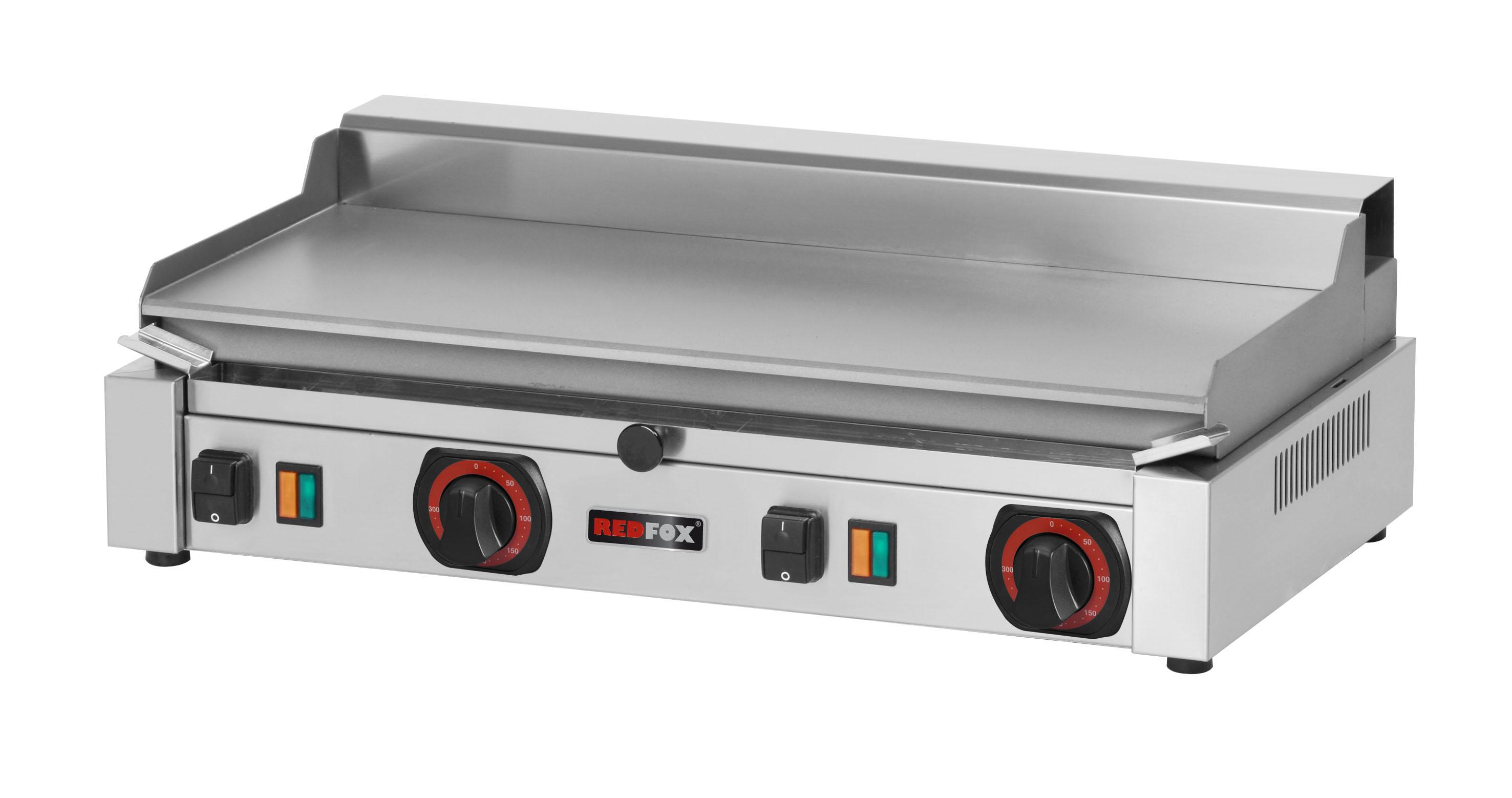 Deska grilovací elektrická PD 2020 BL hladká ocelová RedFox