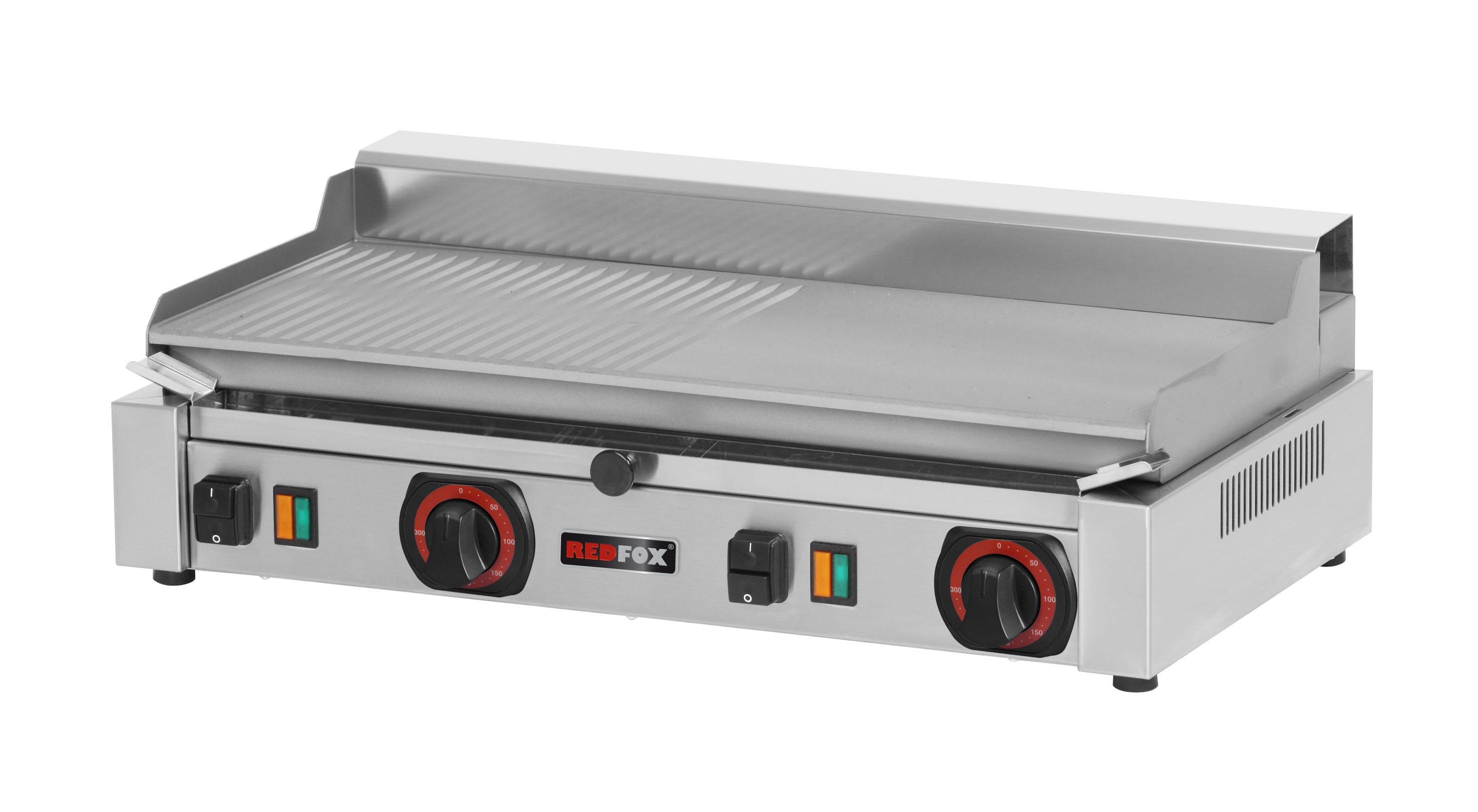 Deska grilovací elektrická PD 2020 BM kombinovaná ocelová RedFox
