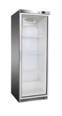 Skříň chladící DR 400 GS lednice nerez prosklené dveře REDFOX