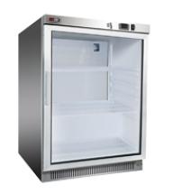 Skříň chladící DR 200 GS lednice malá prosklené dveře REDFOX