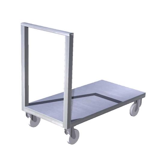 D-Vozík plošinový - 2x madlo - prodáno