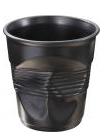 Pohár-kelímek černý  /180 ml