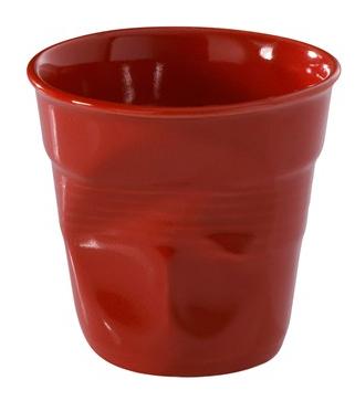 Pohár-kelímek červený  /180 ml