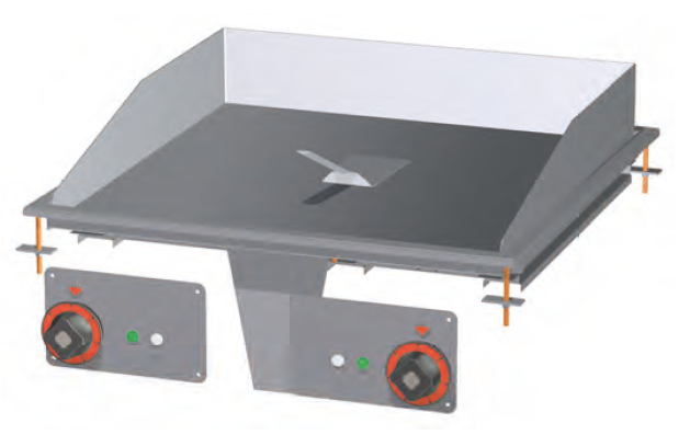 Deska grilovací el.  FTRD-66ET
