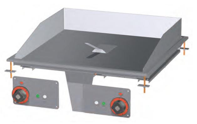 Deska grilovací el.  FTLD-68ET