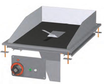 Deska grilovací skloker. FTCD-64EM