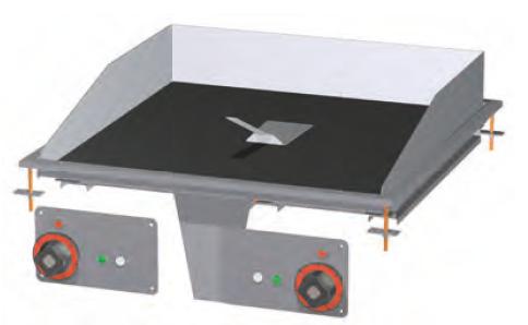 Deska grilovací skloker. FTCD-66ET