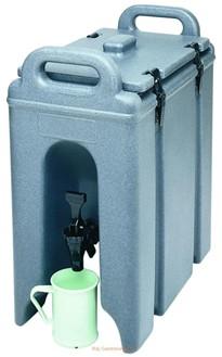 Termoport na nápoje R-250LCD/186 - modrý