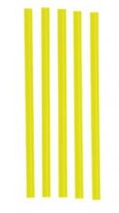 Slámka JUMBO  150ks /žlutá
