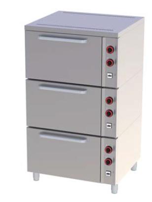 Pec pekařská EPP 03 S třípatrová REDFOX