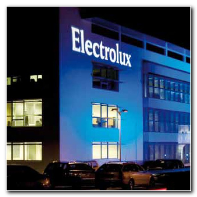 Electrolux - Vedoucí firma na světovém trhu